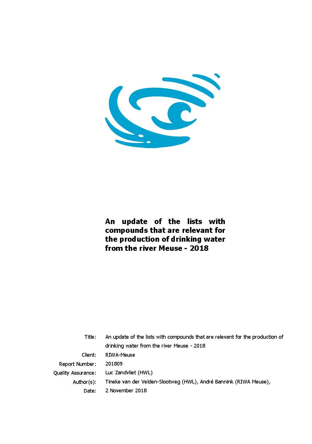RIWA-Maas – RIWA-Maas is een internationaal samenwerkingsverband van