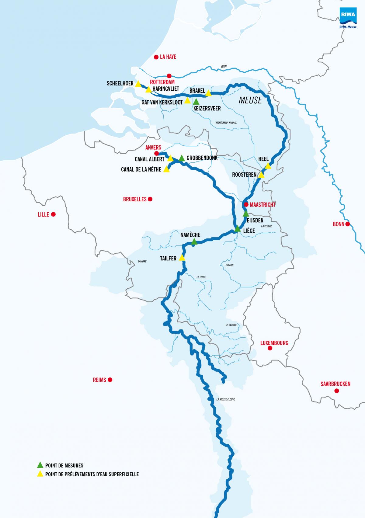 Trouw: Er dreigt een tekort aan drinkwater uit de Maas