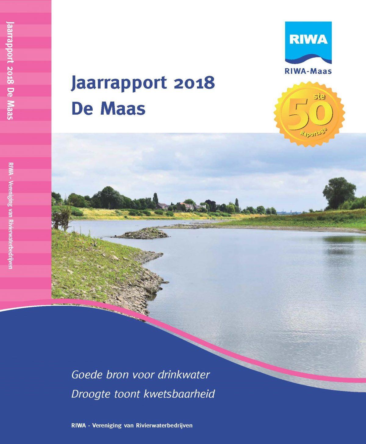 RIWA Jaarrapport 2018 De Maas