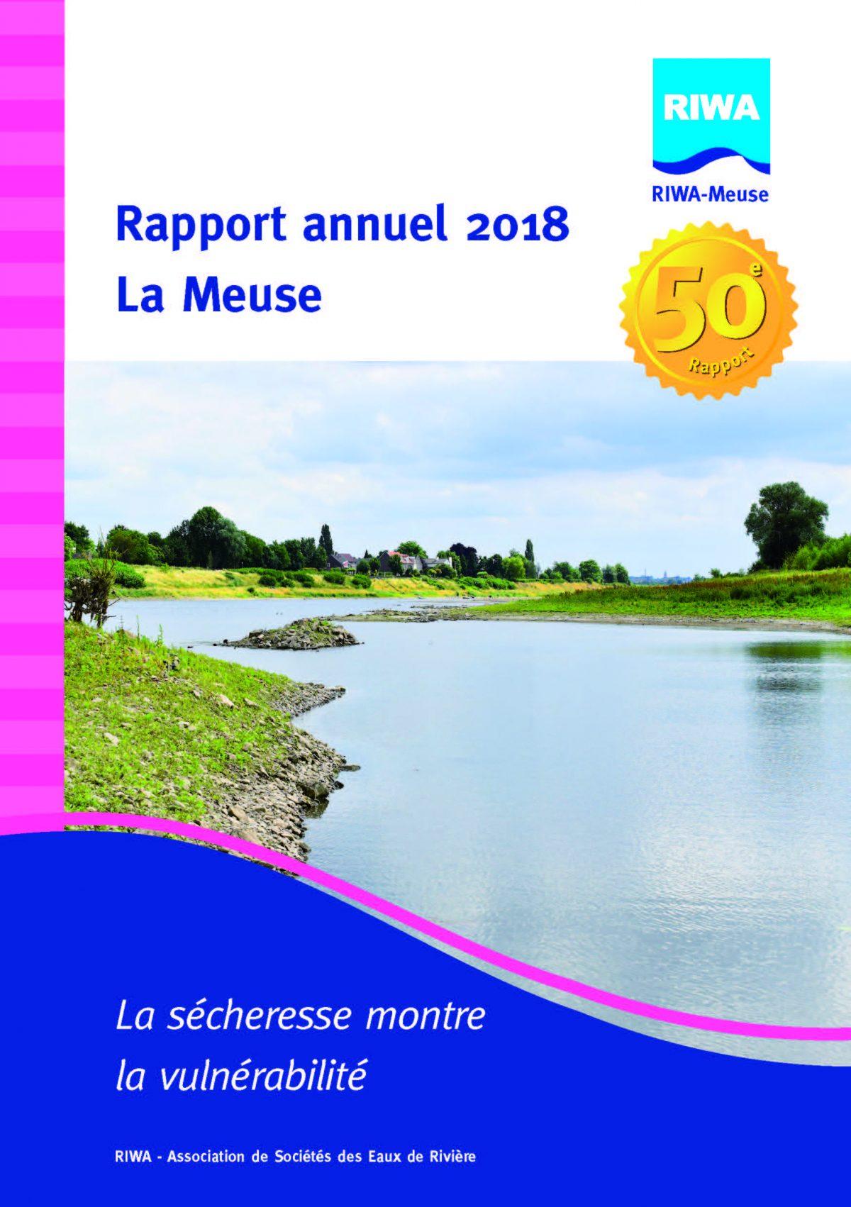 RIWA Rapport Annuel 2018 La Meuse