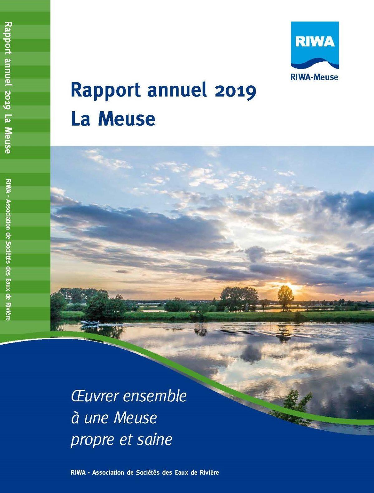 RIWA Rapport Annuel 2019 La Meuse