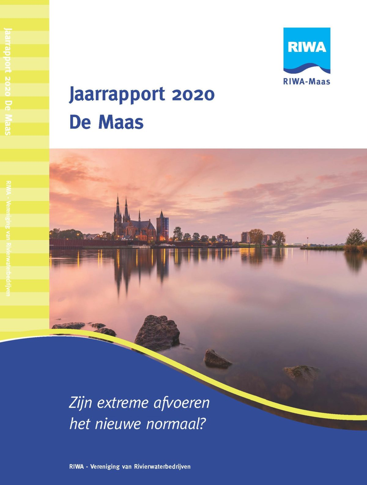 RIWA Jaarrapport 2020 De Maas