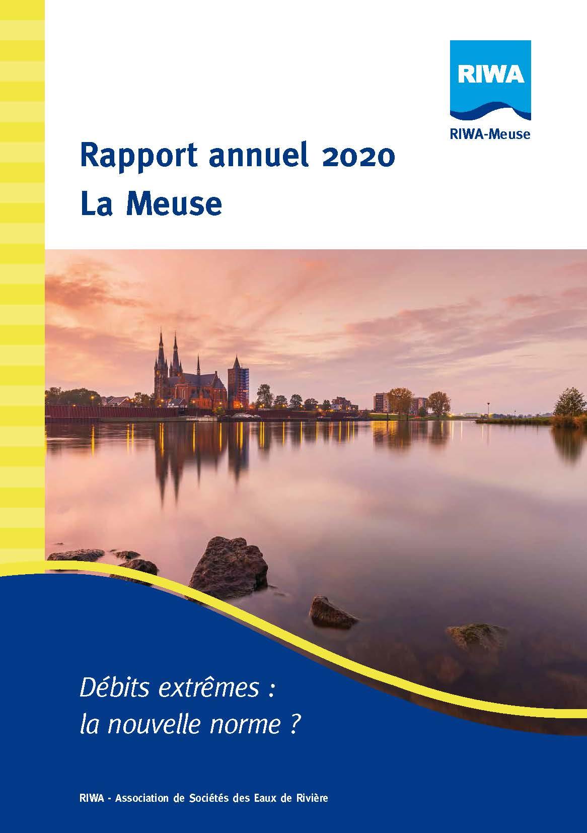 RIWA Rapport Annuel 2020 La Meuse